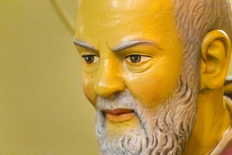 社论,虔诚圣徒的父亲 免版税图库摄影