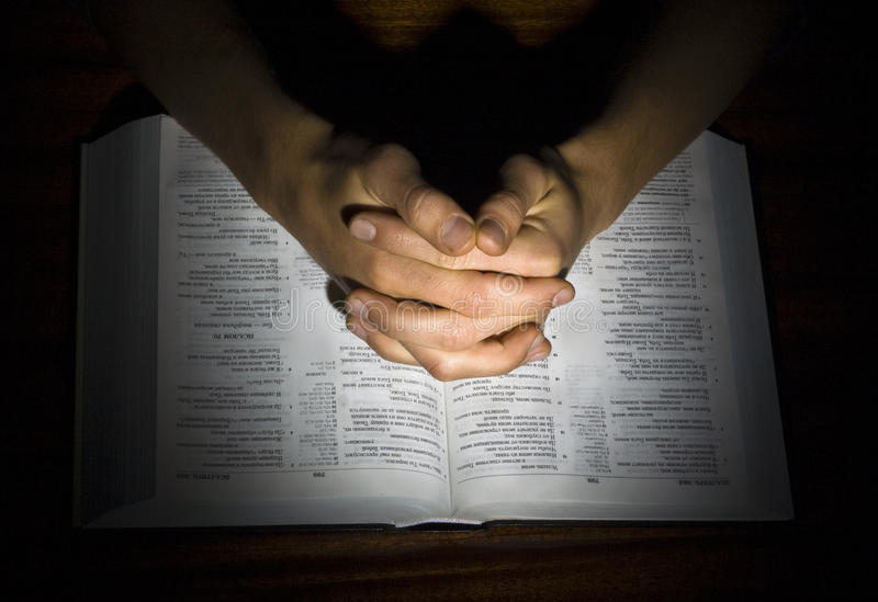 祈祷 免版税图库摄影
