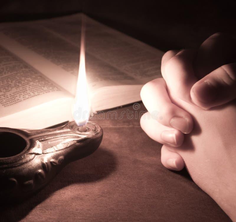 祈祷 免版税库存照片