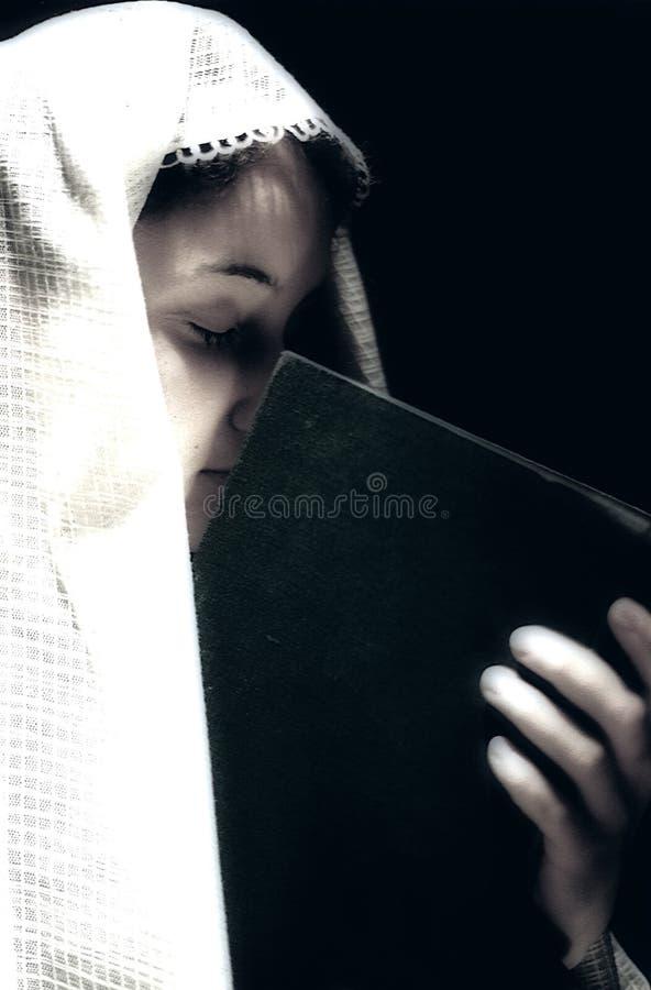 祈祷 库存例证