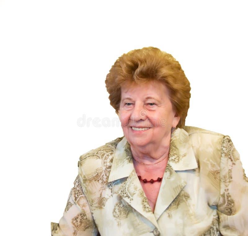 祖母纵向 免版税库存照片