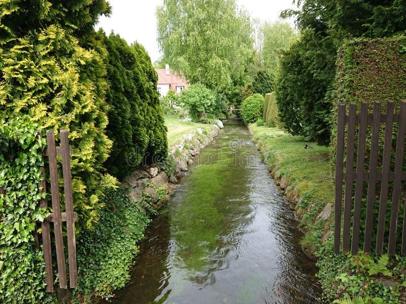 神仙的小的河 库存图片