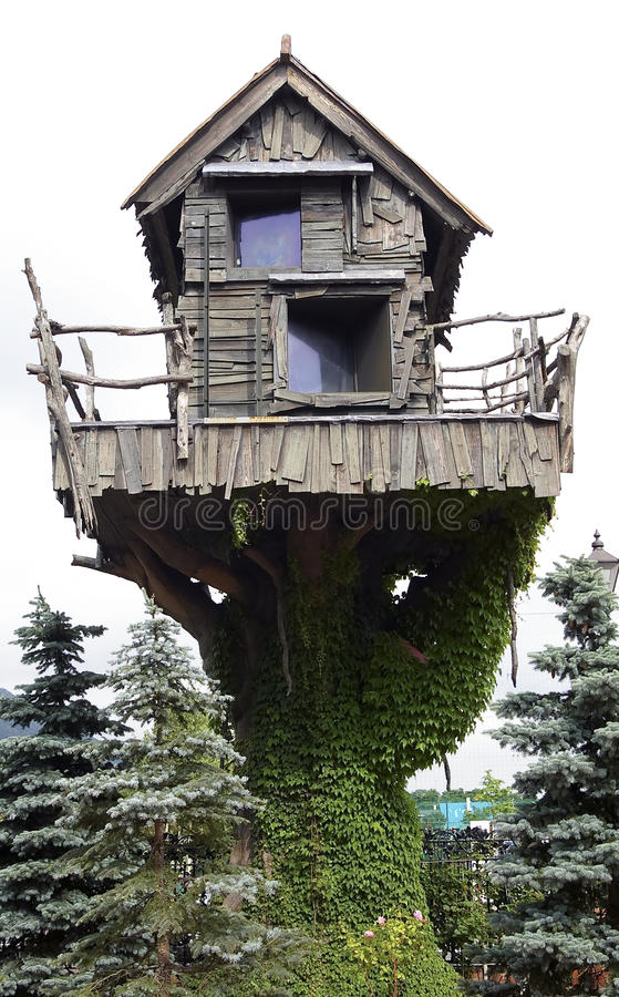 神仙的房子 免版税库存图片