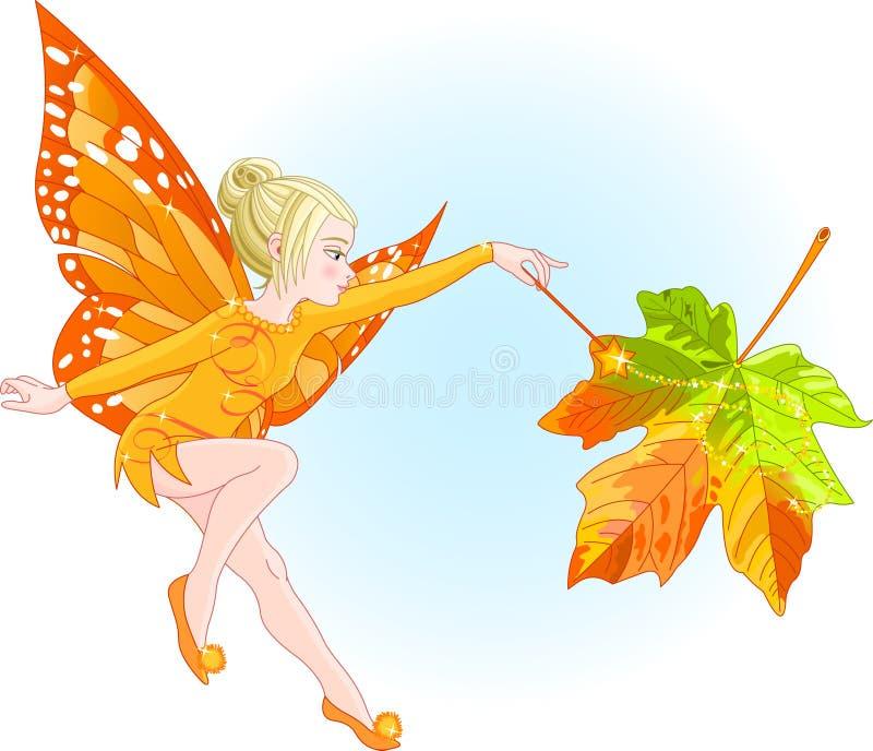 神仙的秋天 库存例证