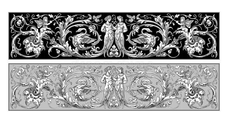 神仙的装饰品 皇族释放例证
