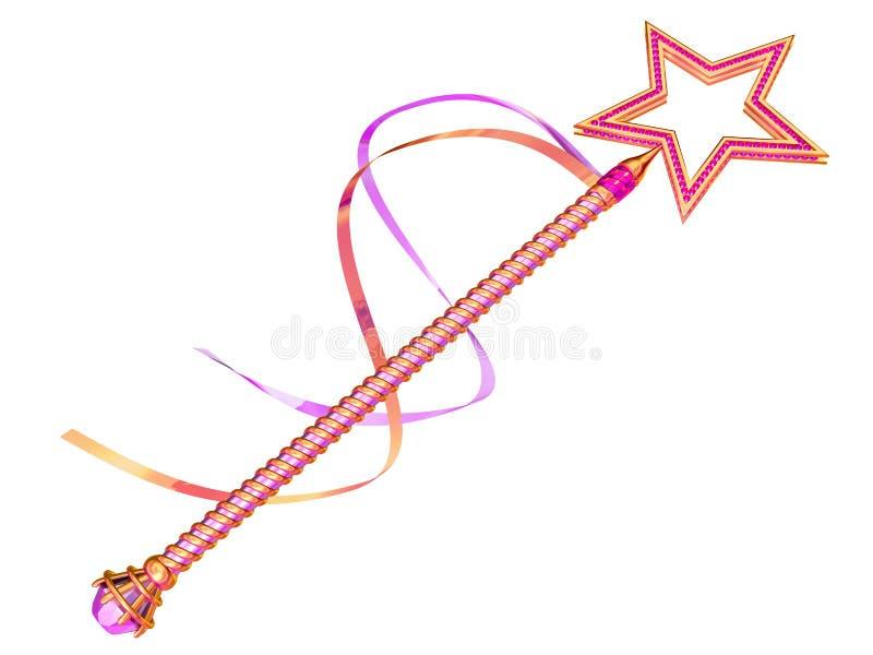 神仙的鞭子 向量例证