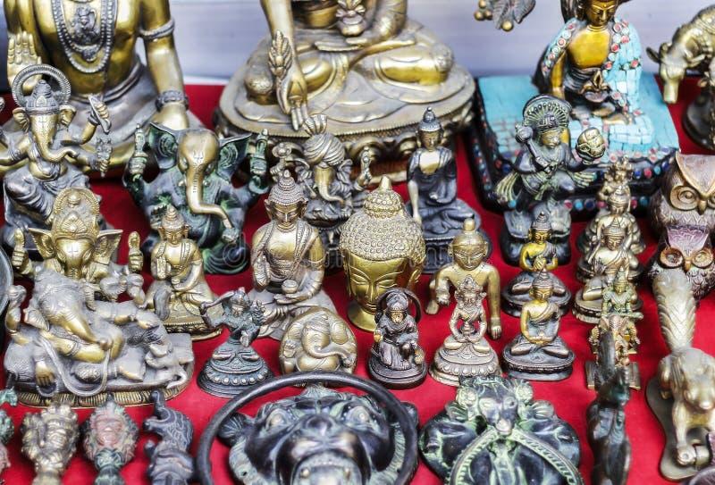 神印度神象 免版税库存图片