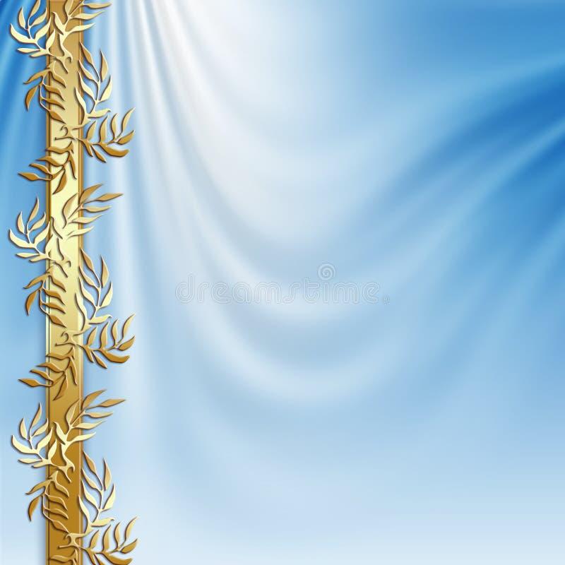 神圣抽象的背景 皇族释放例证