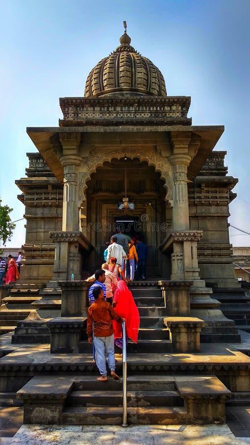 神奇卡拉拉姆寺 纳希克大印度教建筑 印度马哈拉施特拉邦 库存照片