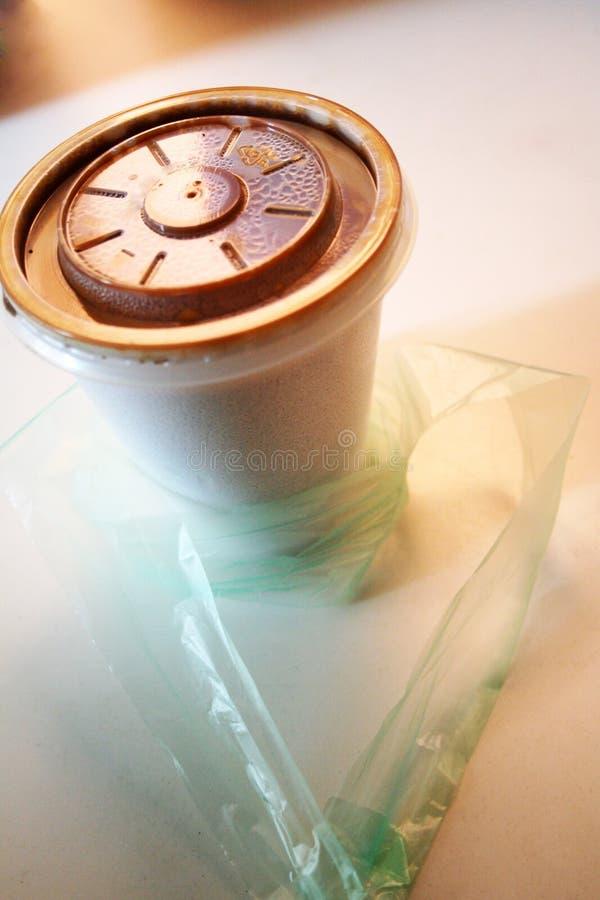 神奇咖啡的cuppa 库存图片