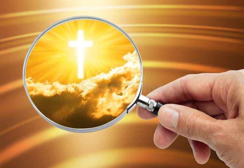神宗教信仰 免版税库存照片