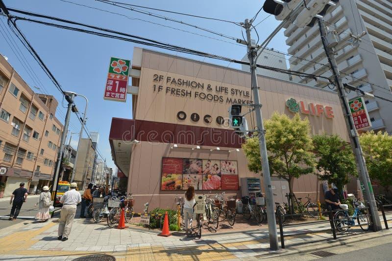 神户超级市场 库存照片
