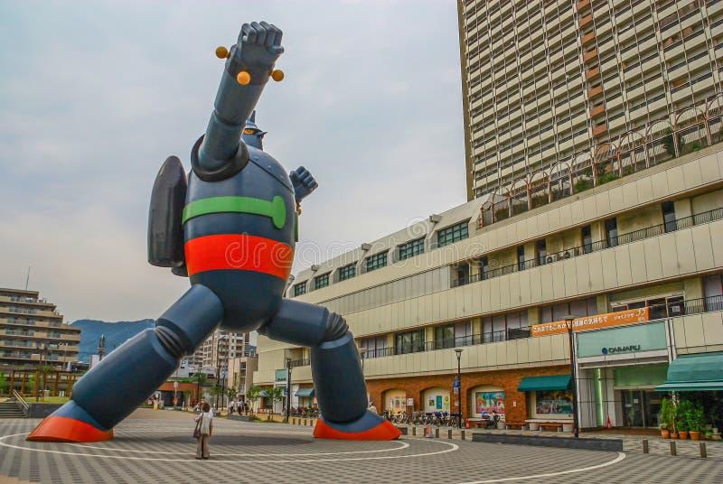 神户,日本巨大的Gigantor  免版税图库摄影
