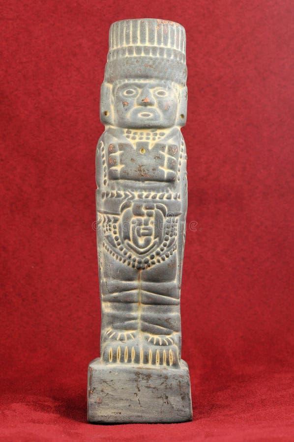 神玛雅老 库存照片