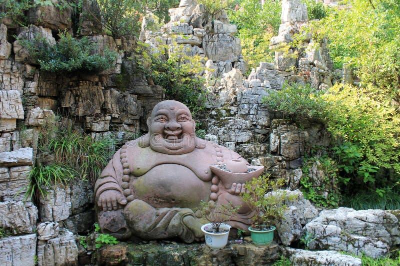 神的中国亚洲中国雕塑 图库摄影