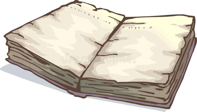 神的书的例证 库存例证