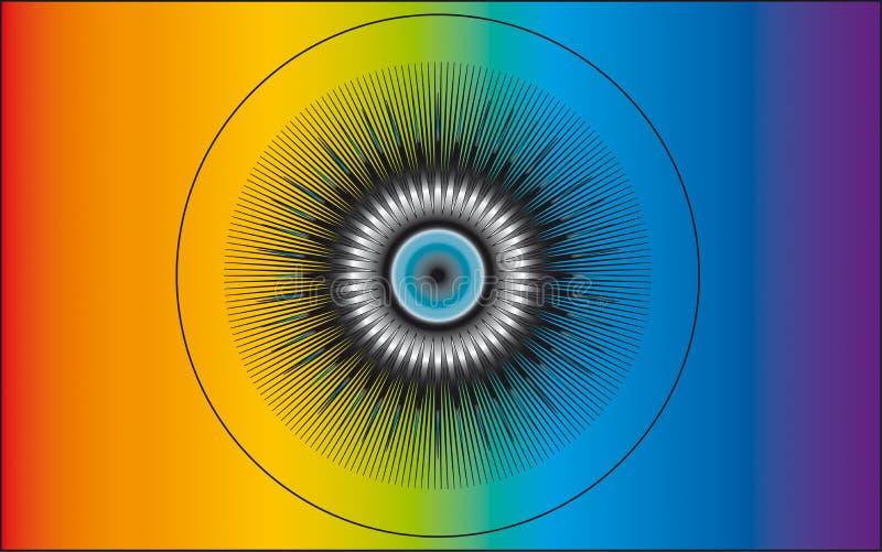 神的眼睛 免版税图库摄影