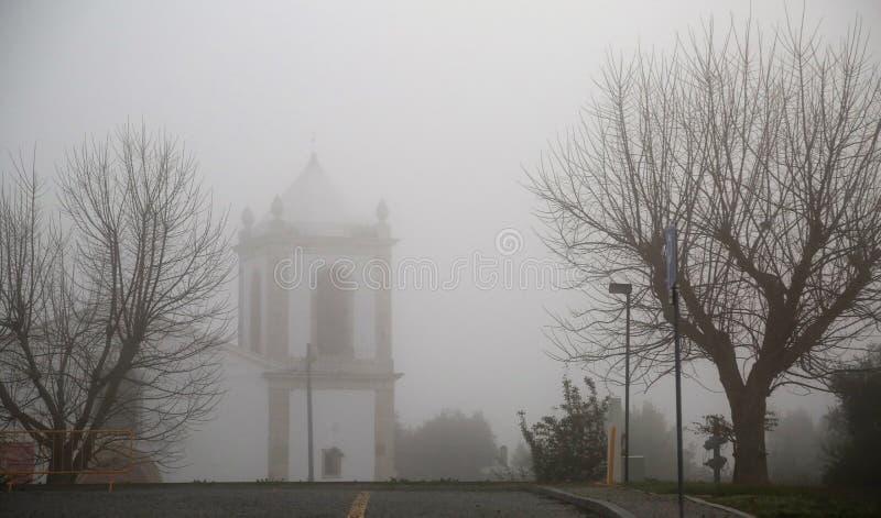 神秘岛教会 免版税图库摄影