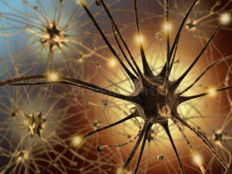 神经元 向量例证