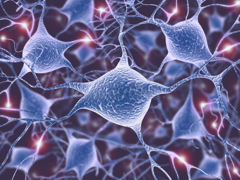神经元 库存例证