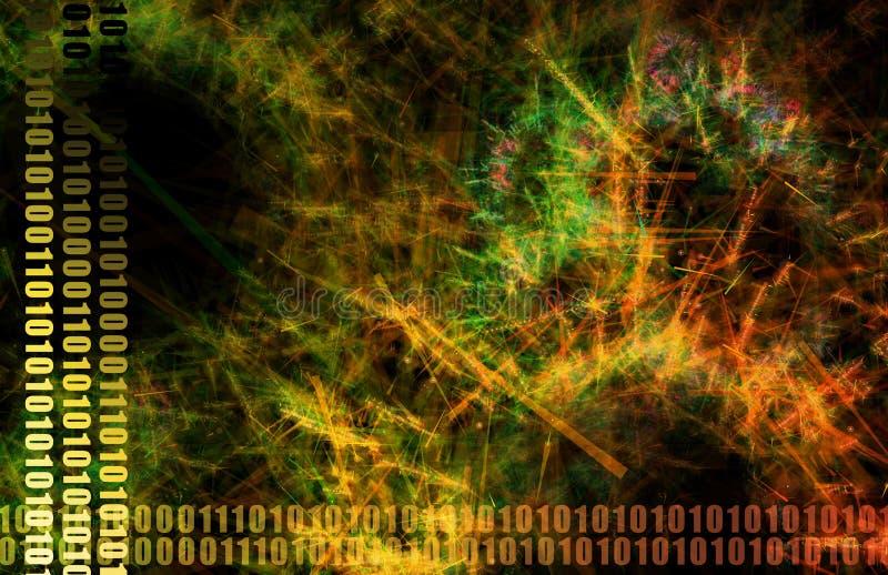 神经系统的互联网 向量例证