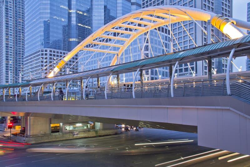 神色strang桥梁泰国 免版税库存图片