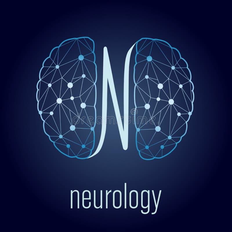 神经学概念 向量例证
