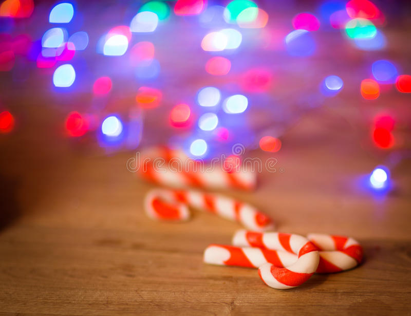 神仙的圣诞节房子蛋糕 图库摄影