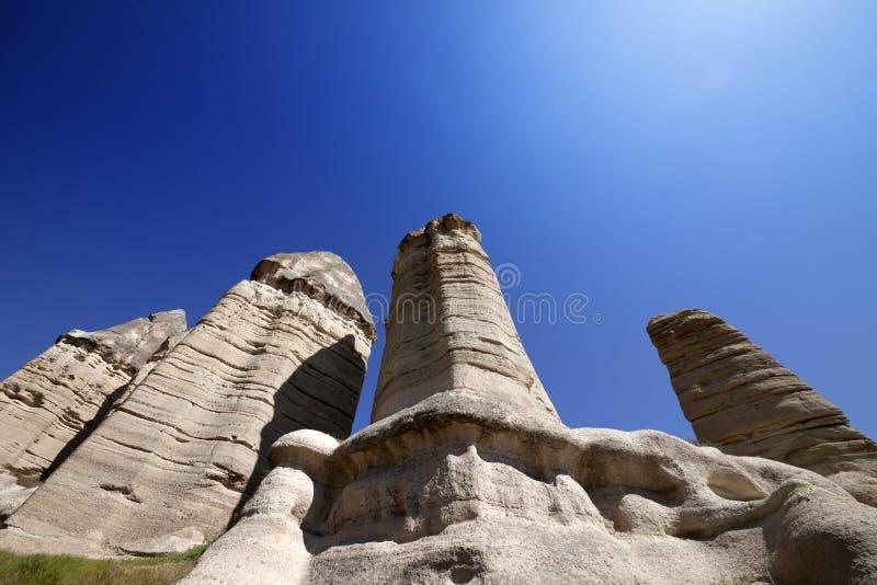 神仙的烟囱岩层 库存照片