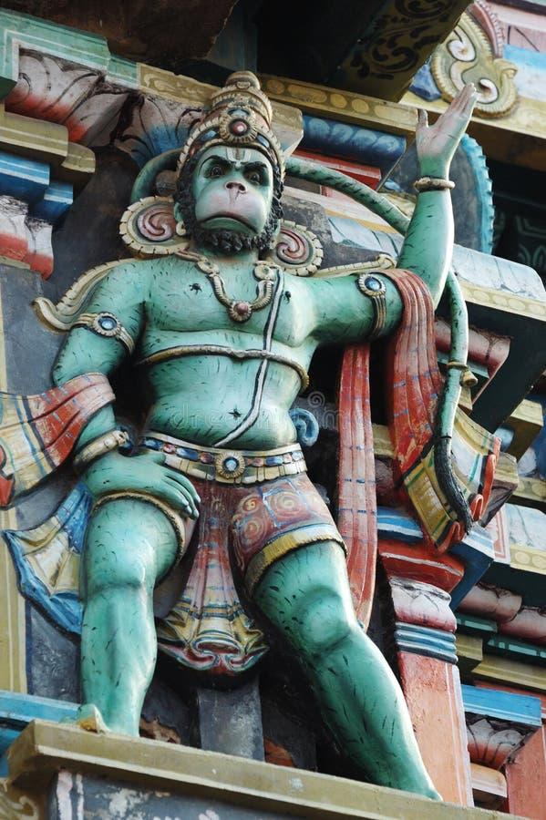 神hanuman印度国王猴子 库存照片