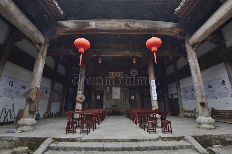 ? ? China Ancestral Hall lizenzfreies stockfoto