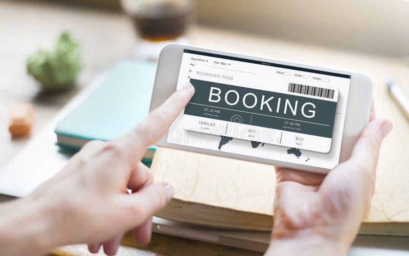 票售票旅途旅行旅行概念 库存照片