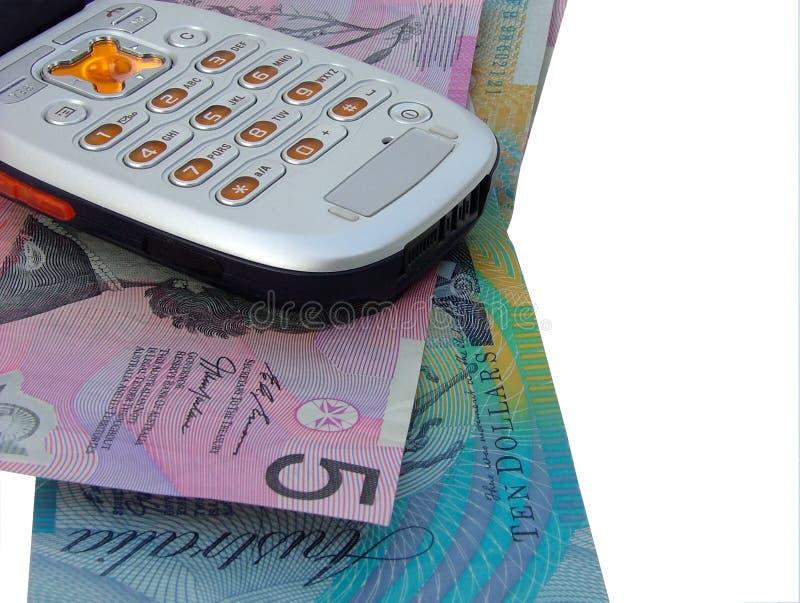 票据电话 免版税库存照片