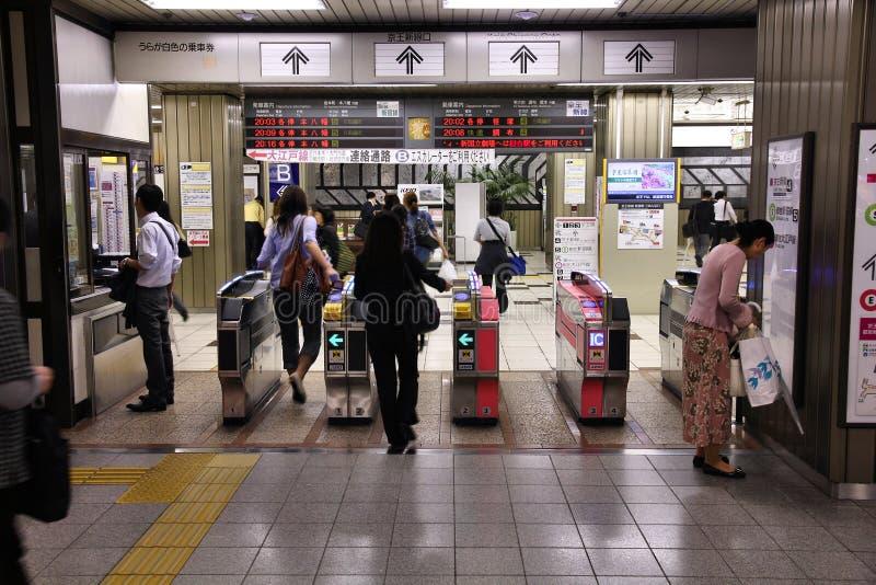 票门在东京 免版税库存图片