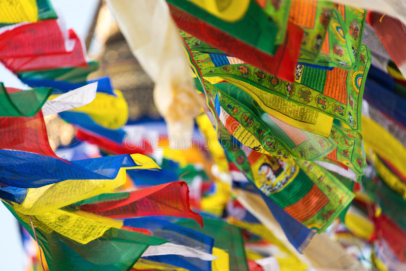 祷告旗子 库存图片