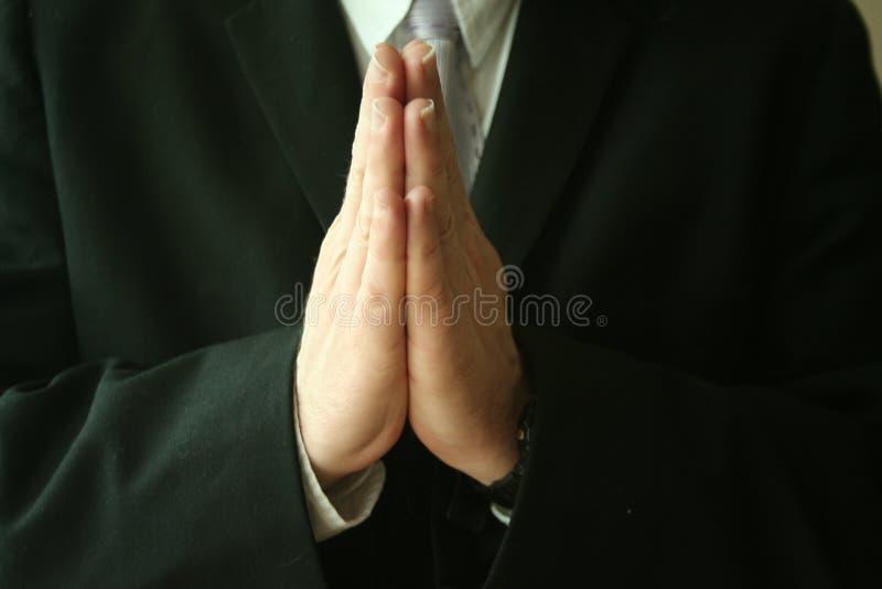 祷告 免版税库存照片