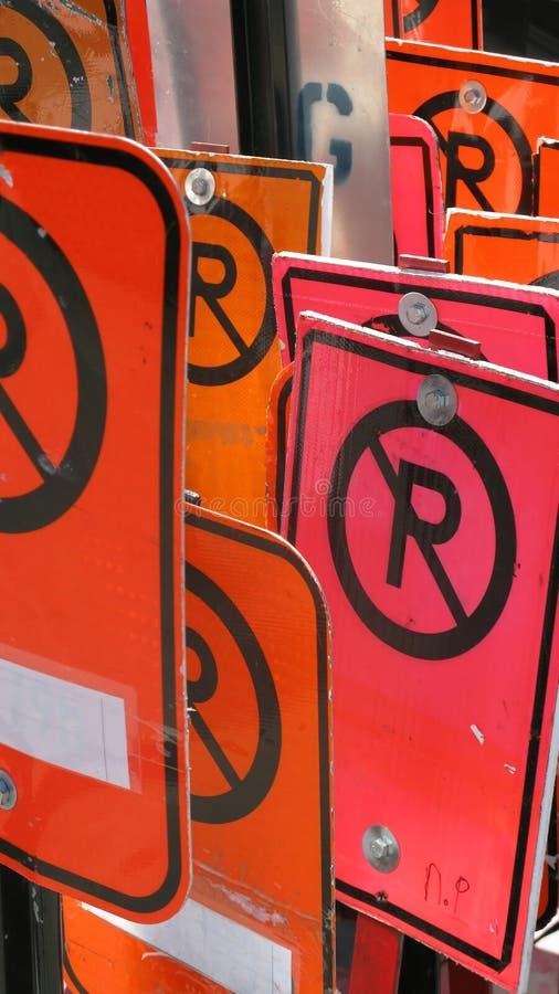 禁止停车 图库摄影