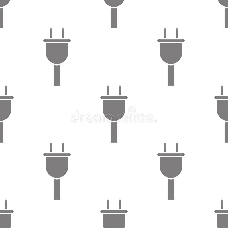 禁止图表下降的象 minimalistic象的元素流动概念和网apps的 图表样式重复无缝的酒吧 皇族释放例证