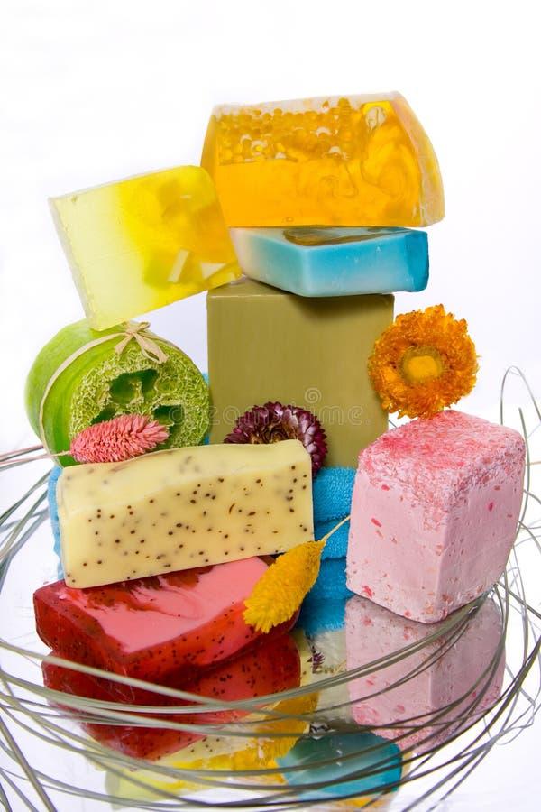 禁止手工制造肥皂 库存图片