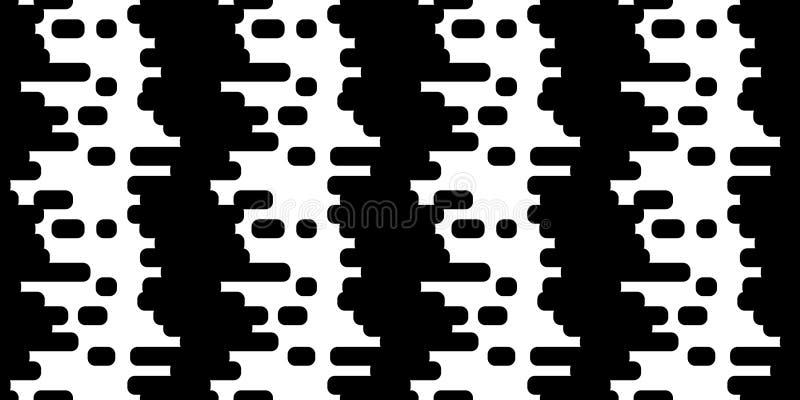禁止无缝的背景样式 库存例证