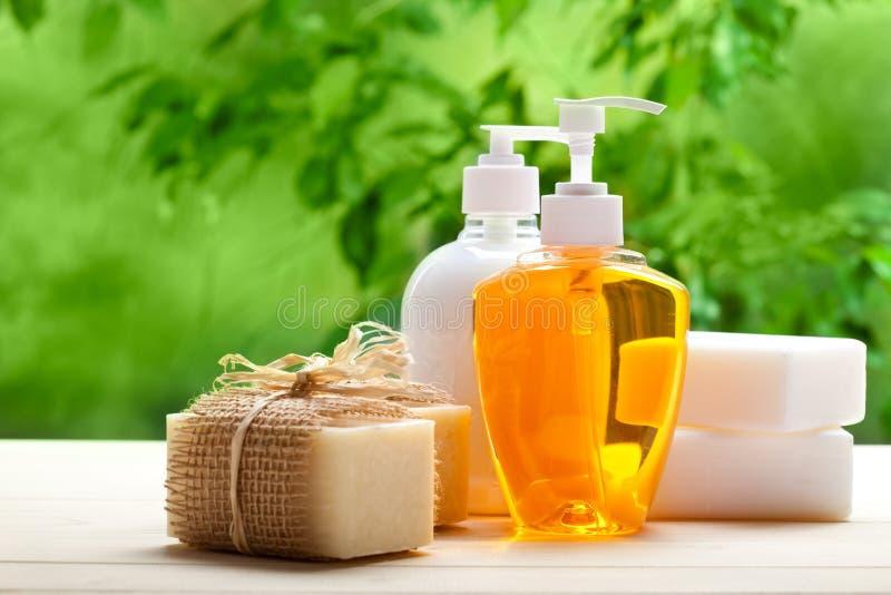 禁止液体肥皂 免版税库存照片