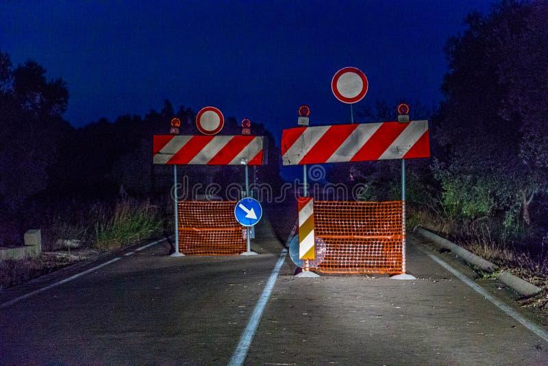 禁止通入的标志 免版税图库摄影