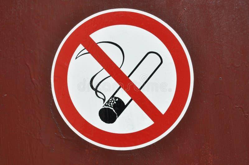 禁烟标志 免版税库存图片