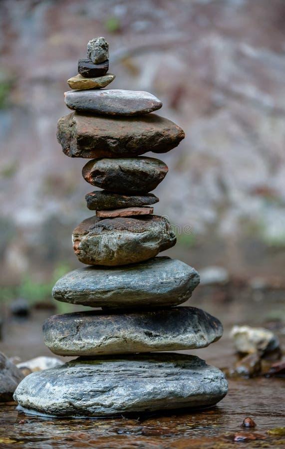 禅宗和平衡本质上 免版税库存图片