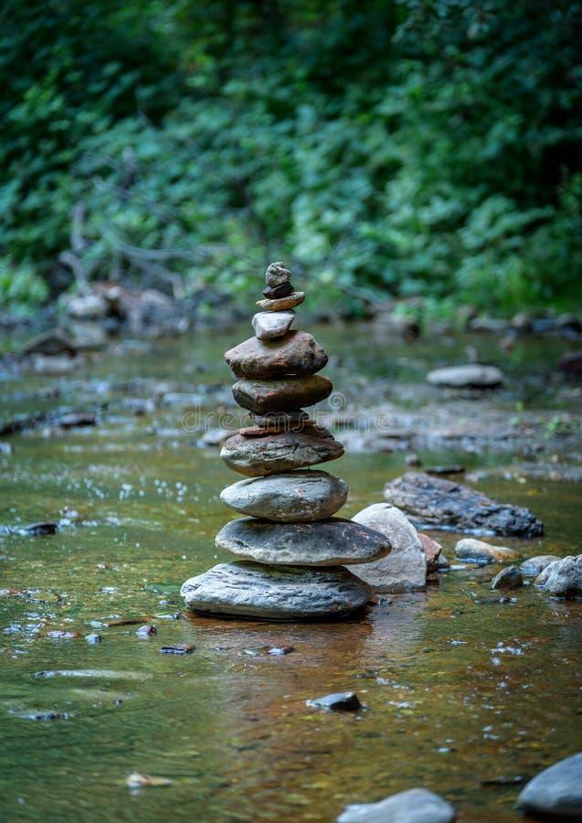 禅宗和平衡本质上 免版税图库摄影