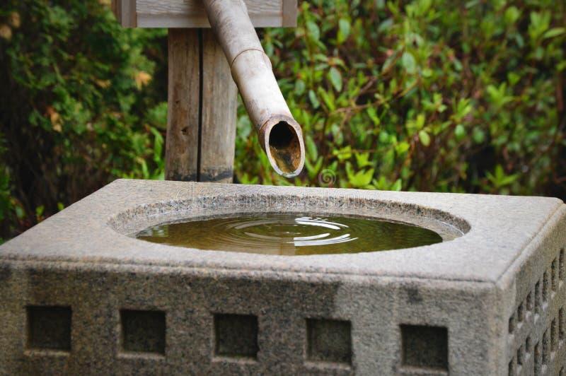 禅宗喷泉 免版税库存图片