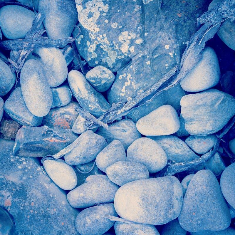 禅宗岩石过滤了 免版税库存图片