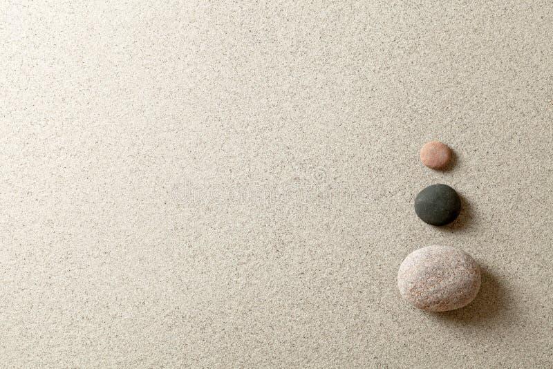 禅宗石头 库存照片