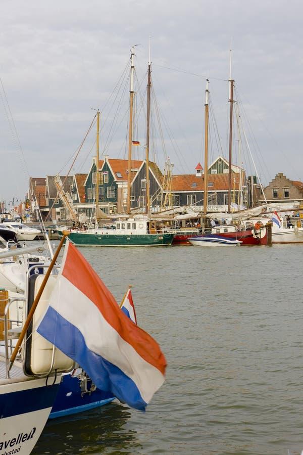福伦丹,荷兰 免版税库存照片