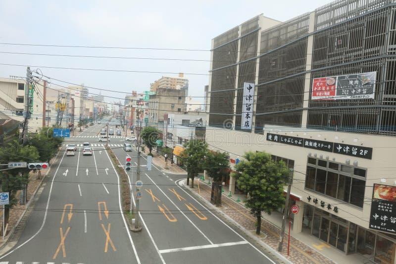 福冈城市视图, 2016年 库存图片